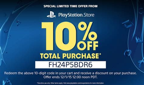 PS4 Black Friday Flash Sale on PS Store with extra code