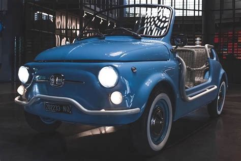 Vintage Fiat 500 Transformed Into Electric Vehicle by
