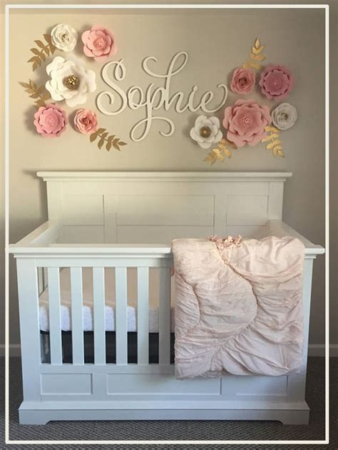 Wall Letters - Wall Hanging Wooden Name - Painted Name