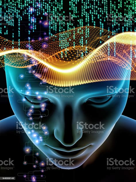 Glow Of Consciousness Stock Illustration - Download Image