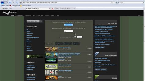 4/10/15 Working steam coupon trick (free games) - YouTube