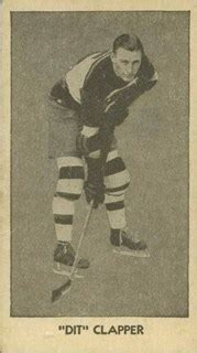 Dit Clapper: An Early Boston Bruins Great