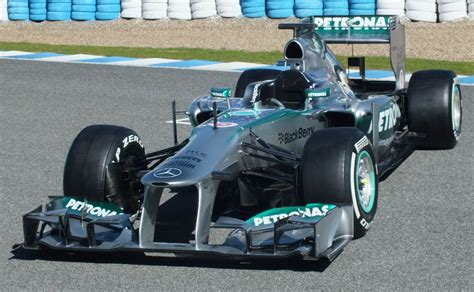 Mercedes W04 launched at Jerez - Racecar Engineering