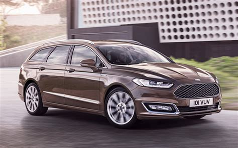 2015 Ford Vignale Mondeo Turnier - Wallpapers and HD