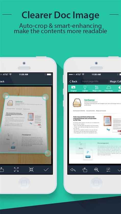 CamScanner - iPhone - English - Evernote App Center