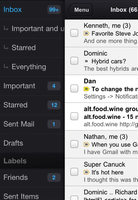 Google Resurrects Gmail in the App Store