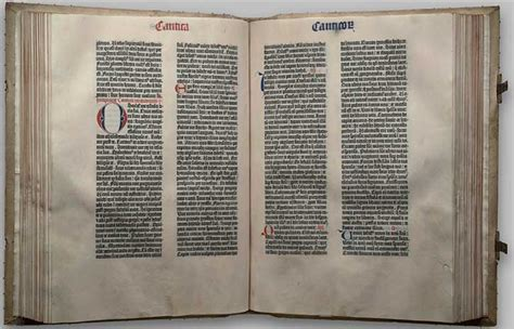 The Gutenberg Bible - Library of Congress Bible Collection