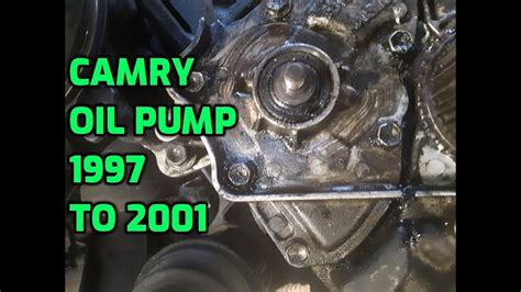 How to replace Toyota Camry Oil Pump Seal 1997 1998 1999