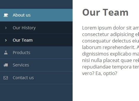 Sticky Sidebar Navigation with jQuery - Vertical