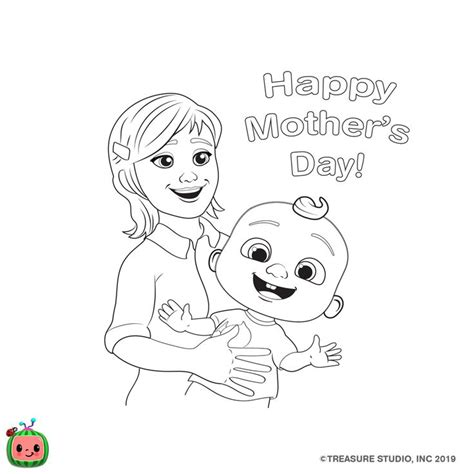 Other Coloring Pages — cocomelon