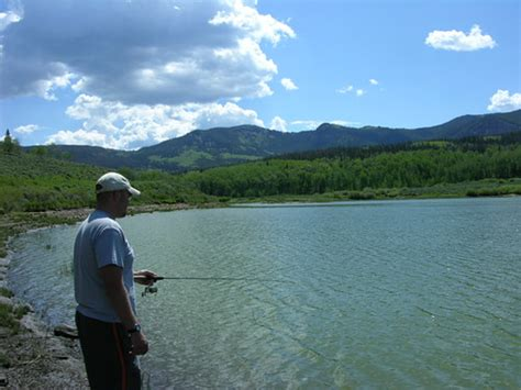 Fishing the Slack-Weiss Reservoir | Our second place we