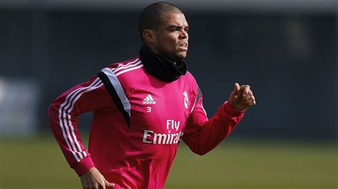 Real Madrid defender Pepe sidelined for three games with