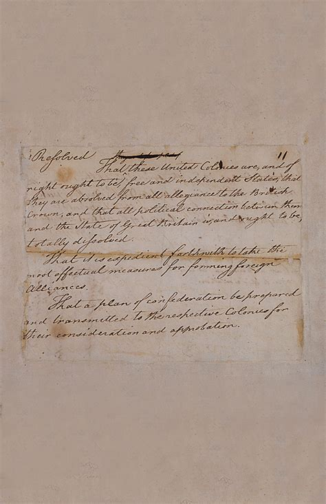 The Declaration of Independence: How Did it Happen