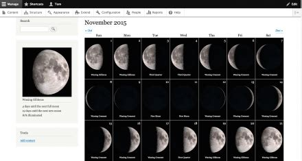 Moon Phases   Drupal