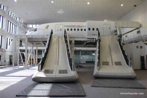 Photo Tour of Singapore Airlines Training Facility