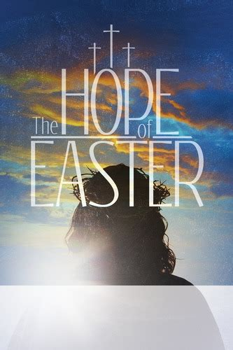 Hope of Easter Poster - Church Invitations - Outreach