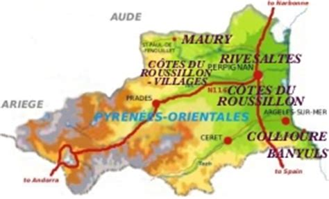 AOC Wines in the Roussillon - FrenchEntrée (Page - 1)