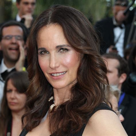 Andie MacDowell at the Mud Premiere   Celebrity Beauty