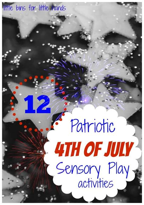 12 Patriotic Sensory Play Ideas For Kids | Little Bins for