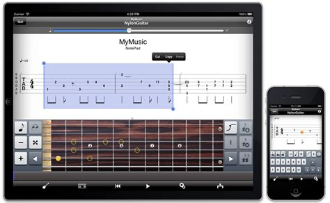 The NotePad functionality now on iPad!   Guitar Pro Blog