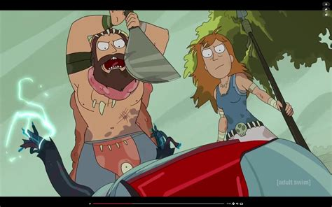 The Rick and Morty episode yesterday featured a Summer and
