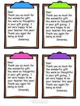 Thank-You Note Super Pack from Teachers for Students