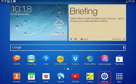 Email Android – Samsung Galaxy Tab – Student | NMBU-SUPPORT