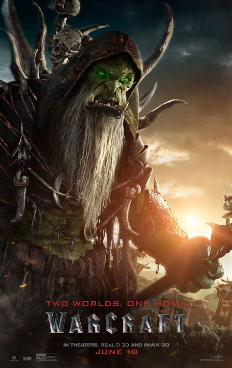 Warcraft Character Posters Tease the Nerdiest Movie of