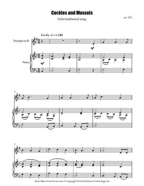 Free Trumpet Sheet Music, Lessons & Resources - 8notes