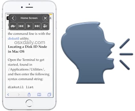 How to Speak Screen on iPhone and iPad to Have iOS Read
