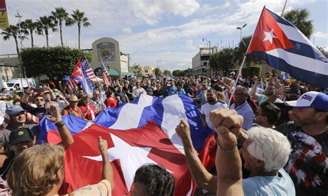 Florida - Miami's Joyous Cubans Hope For Change With