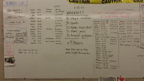 Crossfit Workout of the Day: January 2011