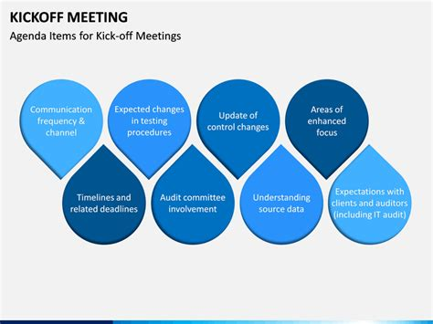 Kickoff Meeting PowerPoint Template | SketchBubble