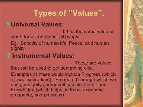 Moral values and ethics