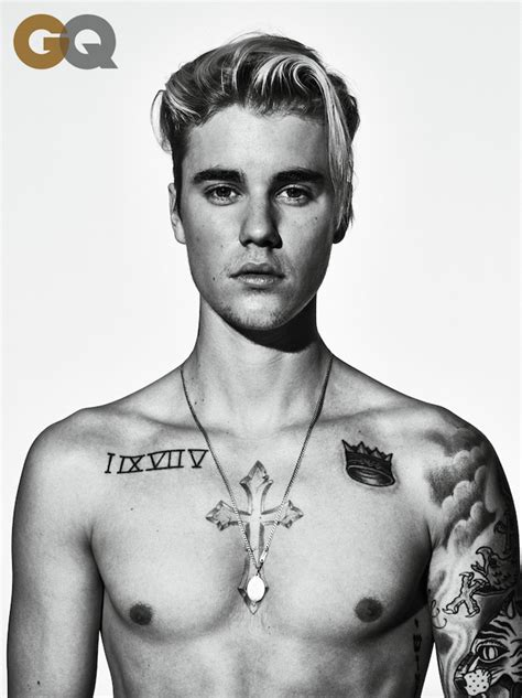 Justin Bieber Explains His Tattoos?Including That One of