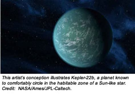 NASA's Kepler Confirms Its First Planet In Habitable Zone