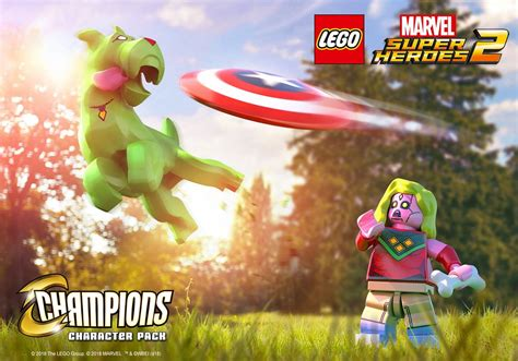 LEGO Marvel Super Heroes 2 'Champions' Character Pack