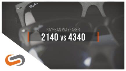 Ray-Ban Justin vs Wayfarer: What's the Difference