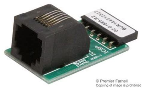 AC164110 - Microchip - RJ11 to ICSP Adapter, PICkit 2
