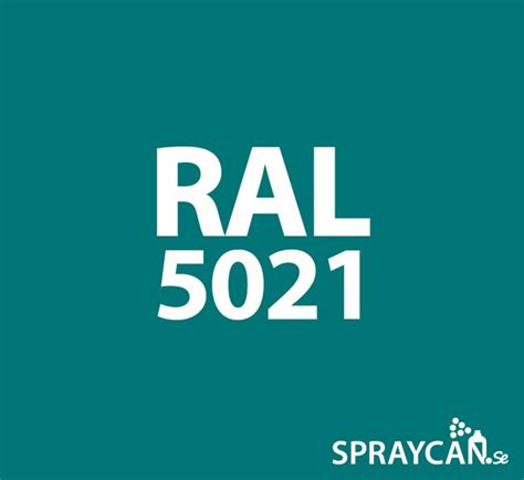 RAL 5021 Water Blue