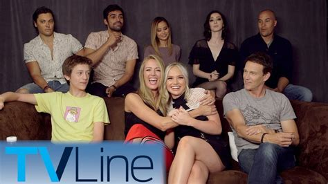 The Gifted Cast Interview   Comic-Con 2017   TVLine - YouTube