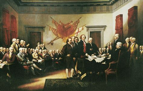 The Declaration of Independence by Trumbull