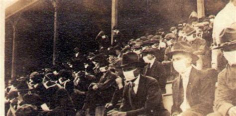 Photo Of Fans At College Football Game During Spanish Flu