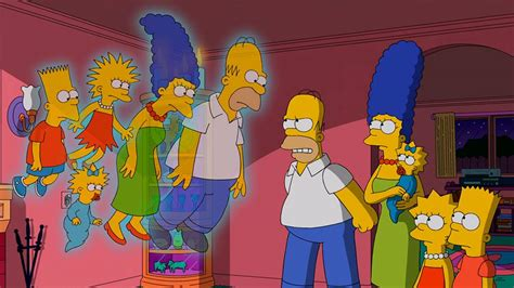 The Simpsons Halloween Special: Homer and Co Haunted