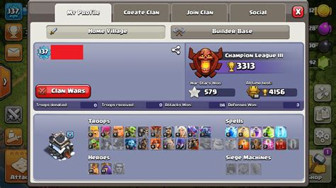 Clash of clans accounts All Town Hall Levels , Maxed Bases