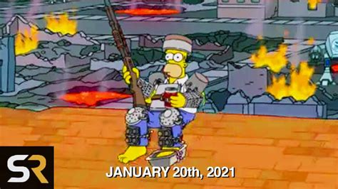 'The Simpsons' Recent Episode Might Be Predicting The End