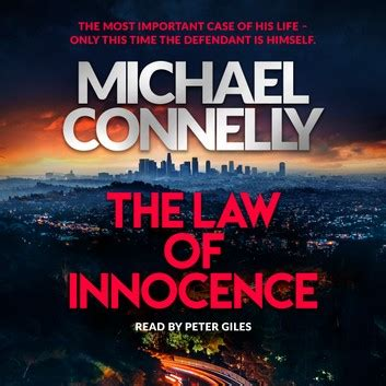 The Law of Innocence Audiobook by Michael Connelly