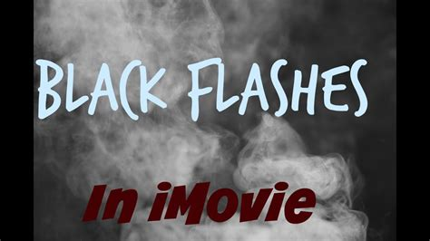 How To Add Black / Trap Flashes In iMovie For iPhone And