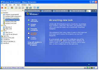 Example: Installing Windows XP as a Guest Operating System