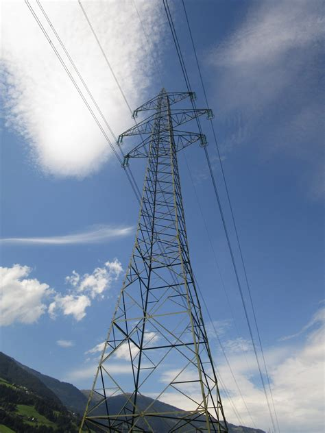 Free Images : cloud, sky, technology, wind, power line